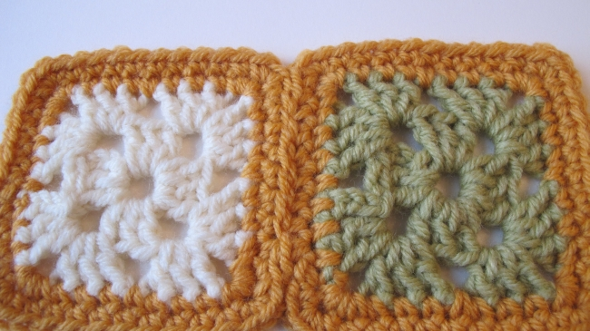 crochet motif seam 7
