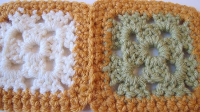crochet motif seam 8
