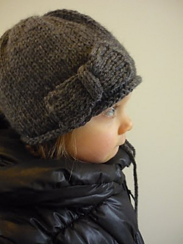 bigbow knitted hat