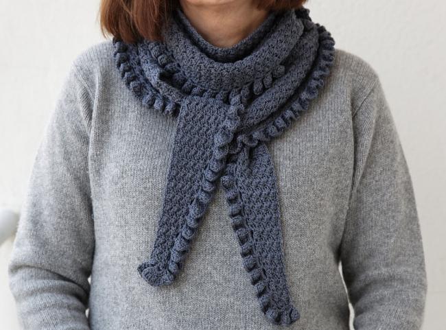 baktus crochet scarf