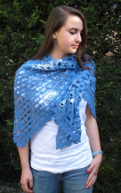ecume shawl