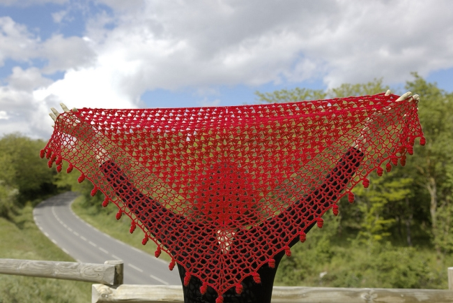 heloise shawl