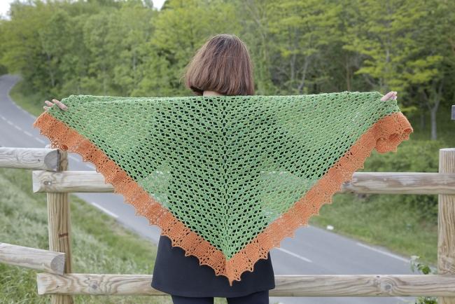 scottish island shawl