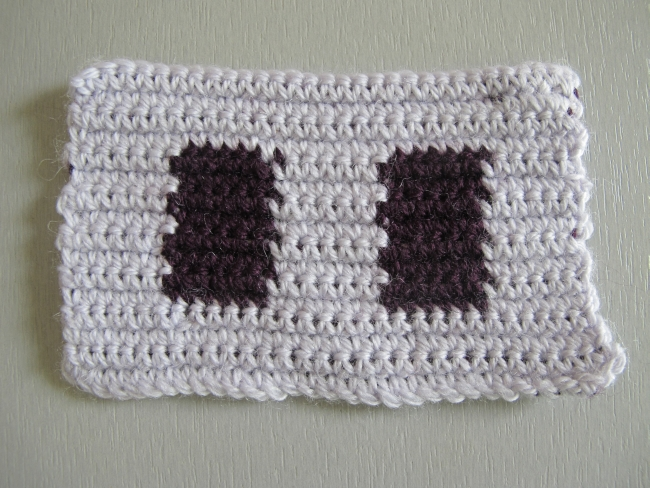 back and forth tapestry crochet