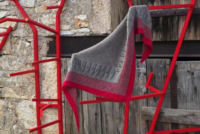 fraternal twin shawl