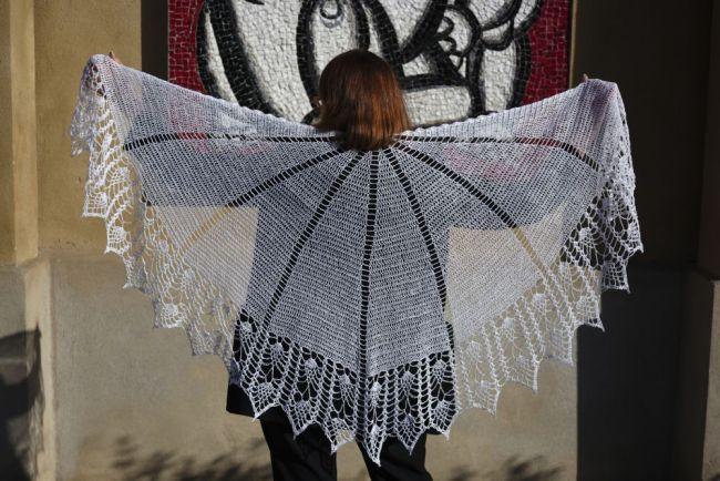 bride's shawl