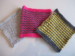 slipped stitch swatches