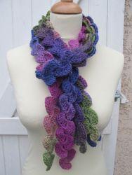hearts scarf