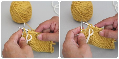 WS resolve slip stitch
