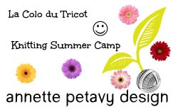 la colo du tricot knitting summer camp