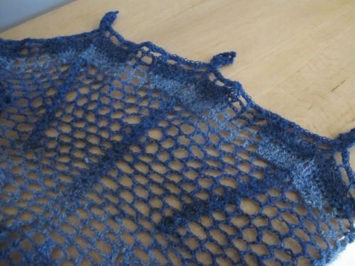 Euphorbia en laine 1 fil - Annette Petavy Design / Euphorbia in singlespun wool - Annette Petavy Design