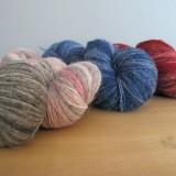 Laine 1 fil suédoise - une beauté au toucher rustique - Swedish singlespun wool: beauty with a rustic touch.