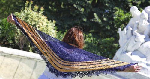 Sea and Sun - à crocheter en bambou dentelle. Une création d'EclatDuSoleil pour Annette Petavy Design
