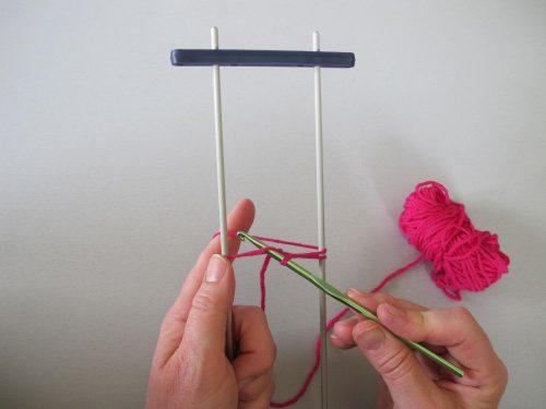 Débuter la dentelle à la fourche - Annette Petavy Design