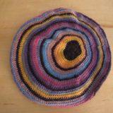 Excentrique, an eccentric beret designed by Annette Petavy