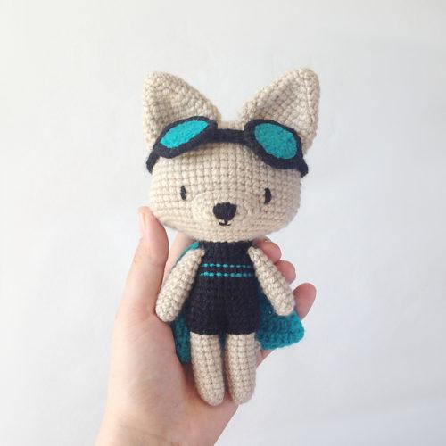 Charlotte super chat par Petits Pixels